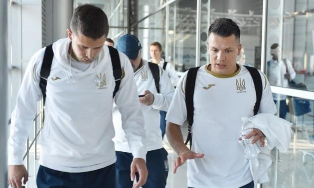 Збірна України повернулася на рідну землю. ФОТО