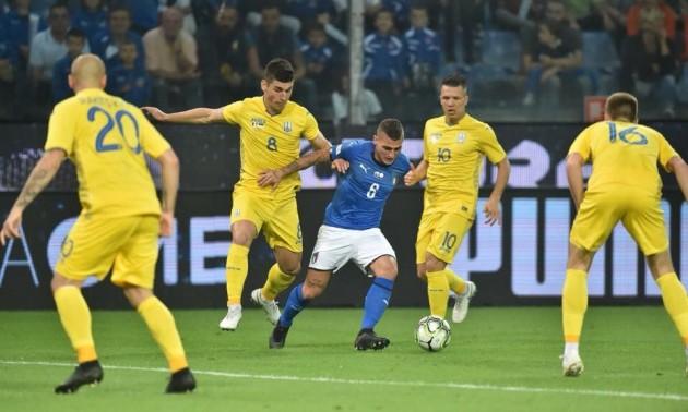 Гол Маліновського приніс Україні нічию з Італією. ВІДЕО